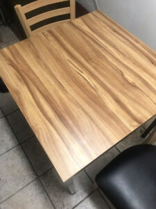 Selling Restaurant table for 2,4,6 seats , chairs and Equipment