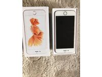Apple iPhone 6s rose gold three network