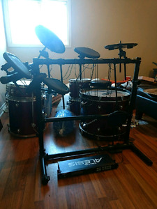 Electric drums , need some works, moving soon must go!