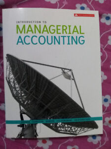 Introduction to Managerial accounting to sell
