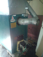 Newmac oil hot air furnace with all ductwork included $450.