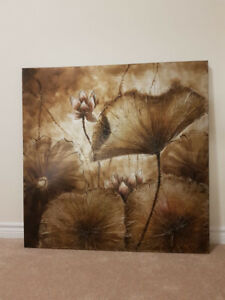 Beautiful Wall Art Decor Canvas - Great add to your living room!