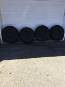 Winter Tires with rims. Snowtrakker ST/2 P225 60 R16. $200
