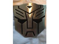 Transformers - Autobot belt buckle - never been used