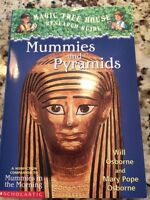 Magic Tree House Mummies and Pyramids in English
