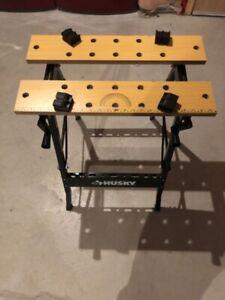 Husky work bench (foldable)