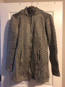 Bench 3/4 Sweater-Coat w/ Hood - Size Small