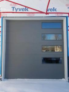 10x10 insulated garage door
