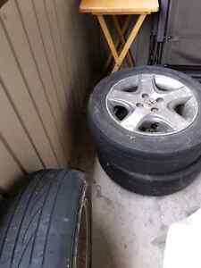 Honda civic set of 4 Alloy wheels