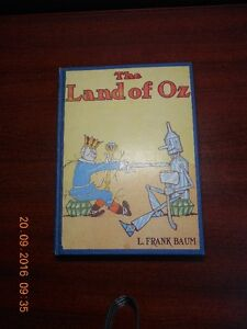 THE LAND OF OZ by L. Frank Baum / Canada Edition July 1904