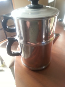 stainless steel pour over coffee maker