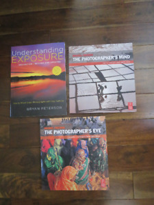 Photography books, new