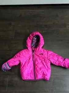 NorthFace Thermoball jacket 3-6 months for baby girl