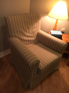 Ikea Jennylund armchair with 2 removable covers