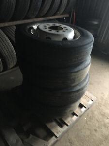 19.5  Bridgestones sets of 6 price per set.