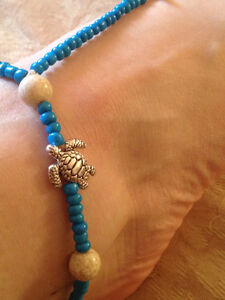 Anklet jewelry ankle bracelet New sea star and turtle blue