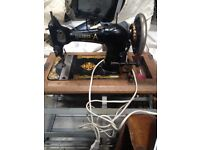Harris sewing machine