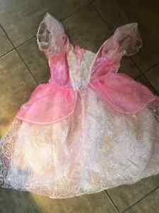 Girls Princess Costume. Size 6-10