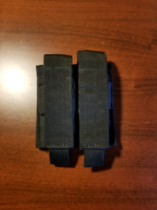 Universal Double Pistol Mag Pouch