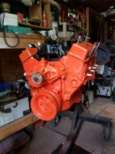 chevy 327 HP motor,2 speed  powerglide tranny & accessories