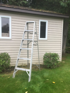 6ft aluminium stepladder. Heavy Duty.