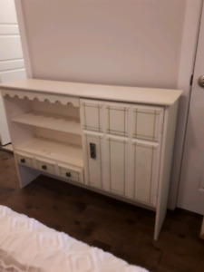 Dresser and matching single bed frame