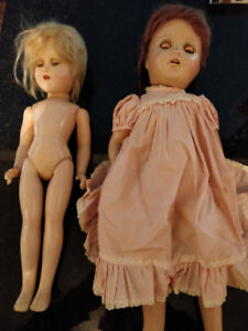 Beautiful original antique dolls