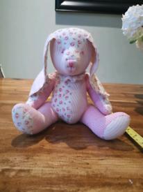 Beautiful patchwork teddy