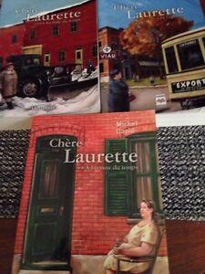 3 romans: chère Laurette