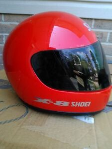 USED SHOIE HELMET SIZE S WITH TINTED SHIELD Windsor Region Ontario image 6