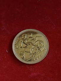 1982 Half Sovereign