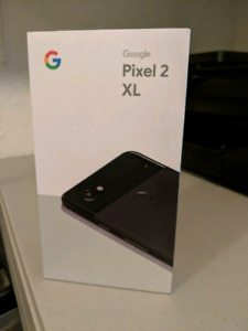Google Pixel 2 XL 128GB Brand new Sealed in box-1 Yr warranty