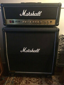 Marshall head and cabinet