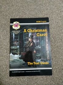 GCSE English - A Christmas Carol CGP Text Guide