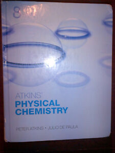 Physical Chemistry by Atkin's  and De Paula + solutions