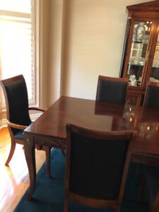 Contemporary dining room set -
