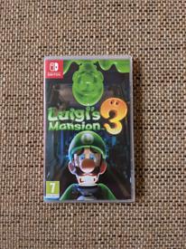 Luigi's Mansion 3 Nintendo Switch game - near NEW