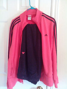 Addidas track suit coral and black ...like new..SOLD PPU