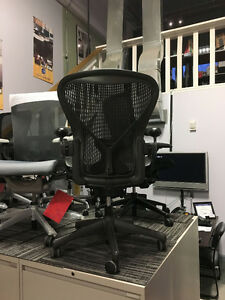 Herman Miller Aeron Chairs - Sizes B & C Starting at $499.00 Peterborough Peterborough Area image 8