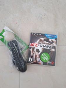 PS3, ufc personal trainer avec manette, acheter recyclé mais jam