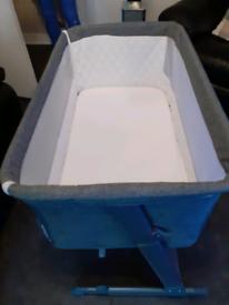 Grey cot
