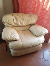 Electric reclining armchair seat