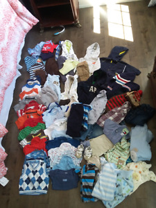 Large lot baby boy clothes
