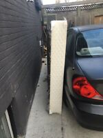 Free queen box spring and bedrails