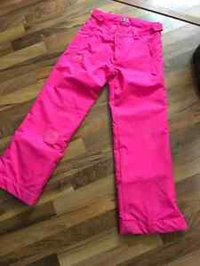 Under Armour snow pants size M girls