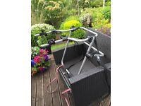 Halfords 4x4 spare wheel 2 bike carrier