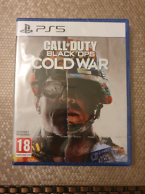 Call of duty: black ops, cold war ps5 game