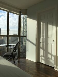 2 Fully Furnished Private Student Rooms in Downtown Vancouver
