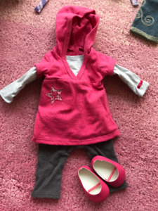 American Girl pink outfit