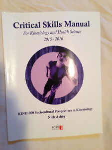 Critical Skills Manual For Kinesiology and Health Science